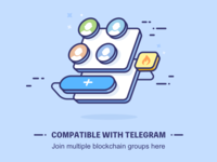 Compatible with Telegram