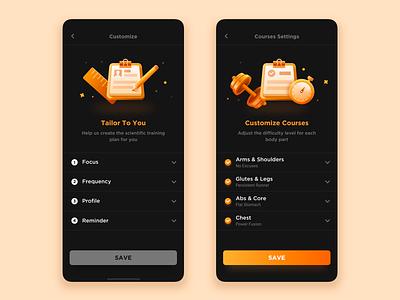 7 Day Fitness Ui Design app fitness app ui sketch