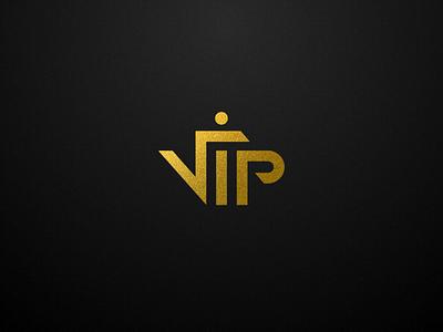 VIP LOGO DESING vip design logo sketch