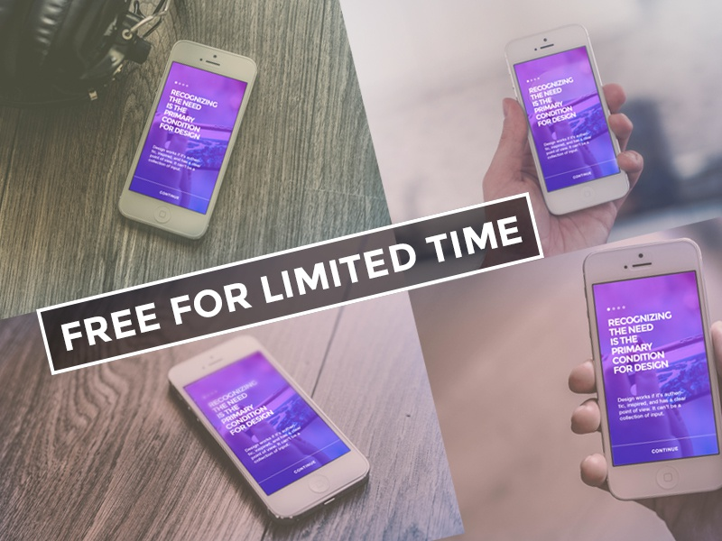 Freebie - Devices Mock-up free freebie iphone device mockup app ui showcase mobile preview