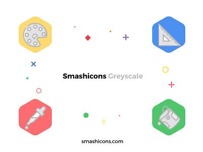 Design Icons (Greyscale Style) │Smashicons.com design pointer user interface ux ui design icons icons