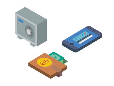 Isometric Icons│Smashicons.com shopping isometric icons flat ecommerce