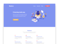 Daily UI #003 – Landing Page