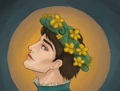 Jaskier witcher illustration digitalart digital design