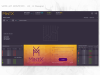 MintX - Blockchain: Cryptocurrency Exchange