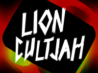 Lion Cultjah Lettering