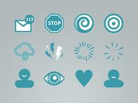 Mindfulness Icon Set