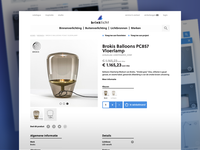 Brinklicht Webshop Design