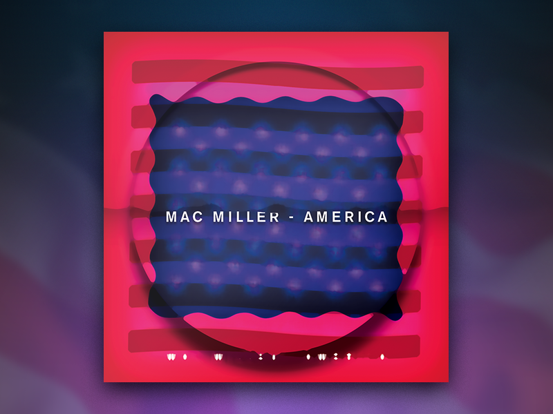 Mac millers. s america  feat. casey veggies   joey bada      alternative digital artwork