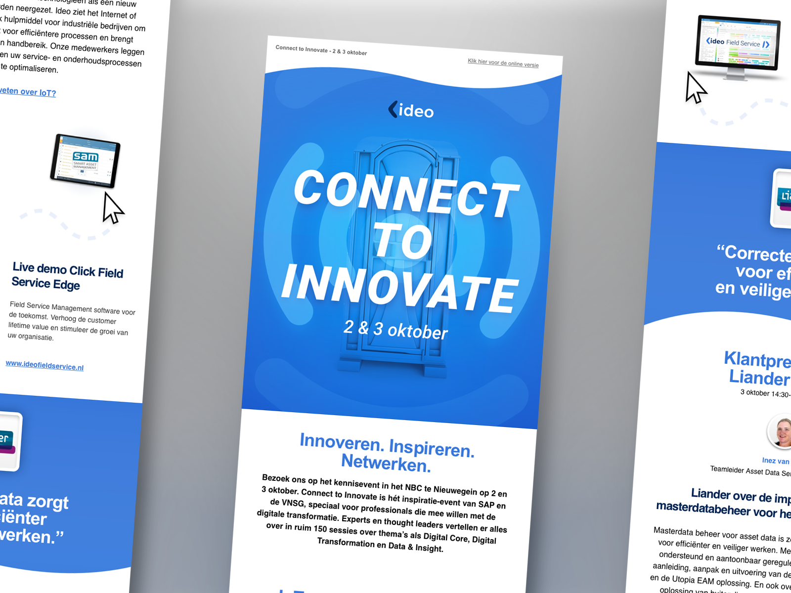 Ideo newsletter connect to innovate 4x