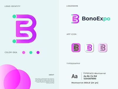 Bono Expo Modern Logo Design and Brand Identity graphic designer brand identity designer brand mark brandidentity branding e monogram b monogram monogram e letter logo e letter b letter logo b letter lettermarklogo lettermark modern logo logo designer logodesign logomark logos logo