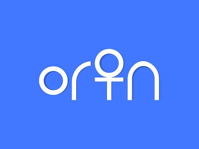 ORTON Wordmark Logo Design texture text key logo key o letter o logo typogaphy wordmark word logodesign logomark logos brand identity branding logotype abstract logo creative logo modern logo logo