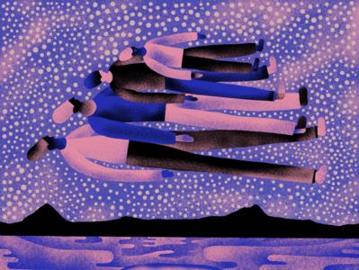 Nuoro Stargazing merchandise procreate illustrator logo branding illustration design album cover album art