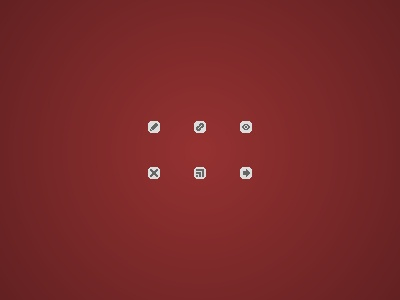 Minicons icons red grey