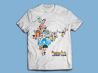 India Map T-shirt Design illustration texture t-shirt idea logo design logo typography t-shirts t shirts t-shirt mockup t-shirt illustration t shirt designer t-shirt design t shirt design t shirt art t-shirt t shirt