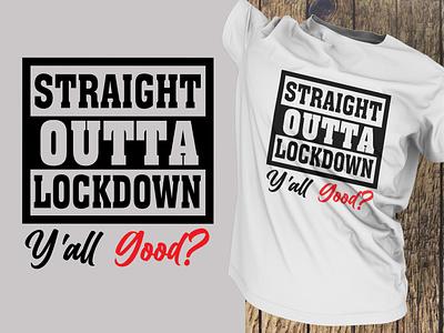LockDown T shirt Design typography art t shirts t-shirt illustration t-shirts t shirt designer typography t-shirt mockup t shirt design t shirt art t-shirt t shirt