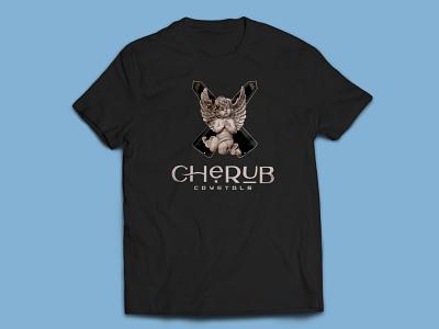Crystal T-Shirt crystals illustration t-shirt mockup t-shirt t-shirt design t shirt design typography t-shirts t-shirt illustration t shirt designer t shirt art t shirt crystal gems