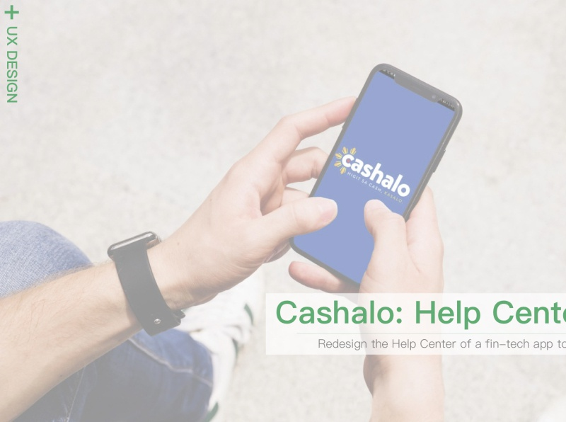 Cashalo: Help Center Redesign app design ux
