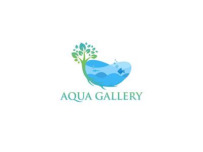 Aqua Gallery creative design creative logo adobe photoshop photoshop adobe illustrator adobe illustrator typography ux ui icon design vector branding icon logo design logo design graphic design