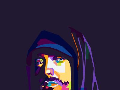 wpap pop art potrait colorful vector art vector vector illustration illustraion potrait pop art wpap