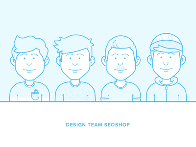 Designteam SEOshop avatar illustration team seoshop person character