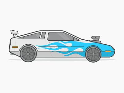 Pimp Delorean pimp my ride car kit v12 delorean illustration xzibit