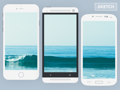 Flat mobile devices  freebie flat sketch download free samsung htc iphone mockup