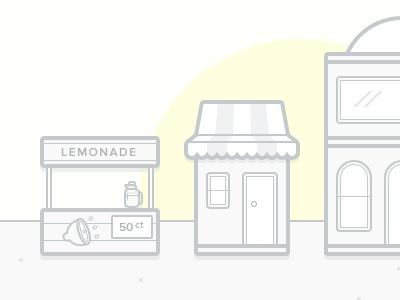 Starting from the bottom warehouse visual store startup shop lemonade juice