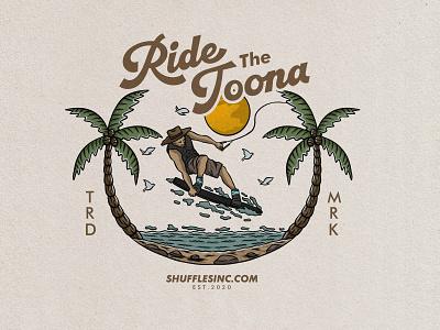 surf badge vintage hand drawn design illustration ui  ux uidesign ui design uiux ui vintage logo vintage design graphic design vector badge tropical badge logo illustrator design art