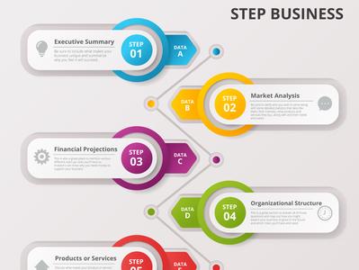 Infographics illustration design