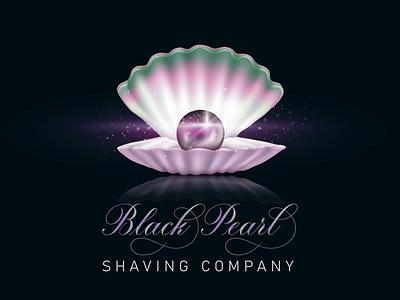 Black Peral logo illustrator creative design vector logo branding illustration design