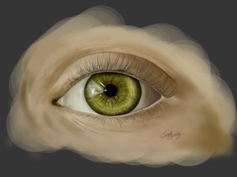 Eye Illustration medical illustration illustration wacom digital painting digitalart