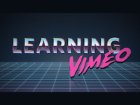 Learning Vimeo