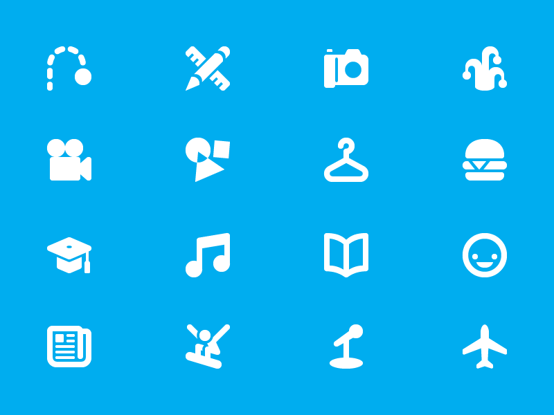 Category Icons categories icons vimeo