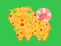 Fig. 3 Chow Chow Mein