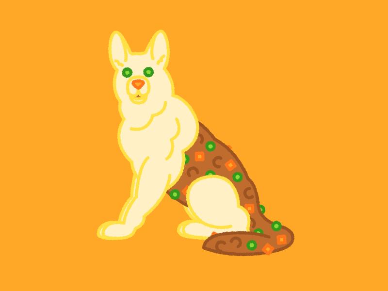 German Shepherd's Pie shepreds pie german shepherd puppy chow