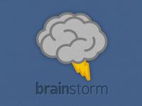 Brainstorm Logo Rebound