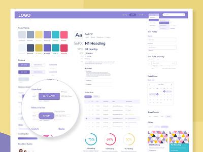 Web Style Guide & Anatomy application dsm website styleguide