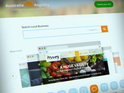 Australia Small Business Directory web design site