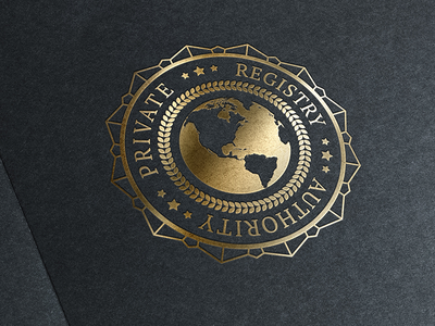 Private Registry Authority Logo logo branding identity