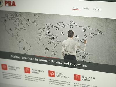Private Registry Authority Site web design site