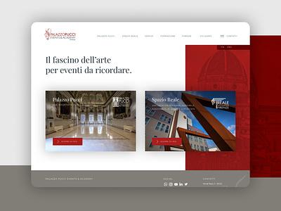 Cover   Filo Firenze branding design ux ui identity website web