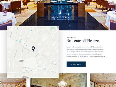 Floating map layout web design webdesign web shadow flat ux ui design