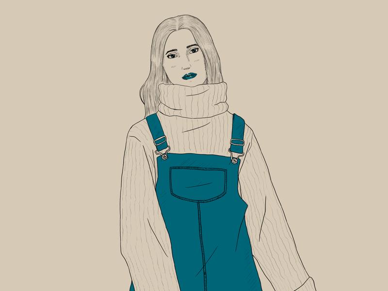 Astoria design draw character illustration