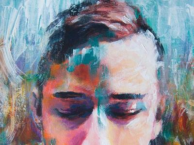 portrait of Daniel design paint art illustration