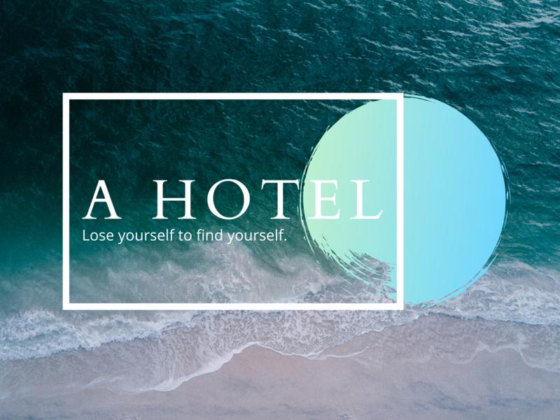 A website design for a hotel simple minimal hotel website animation web ux ui design
