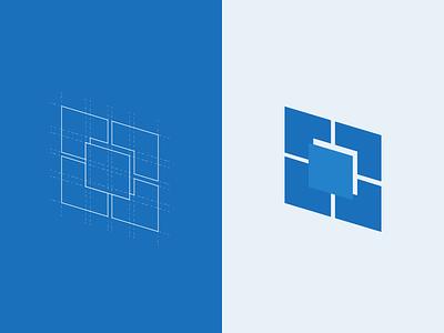 Minimalistic logo concept design vector flat logo brand