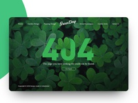 Green Day (404 Page)