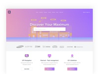 Website redesign of  IT company Newmax Technologies