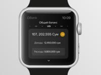 Apple Watch Banking App